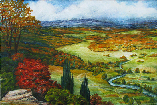 Tito Landscape (Oil painting)