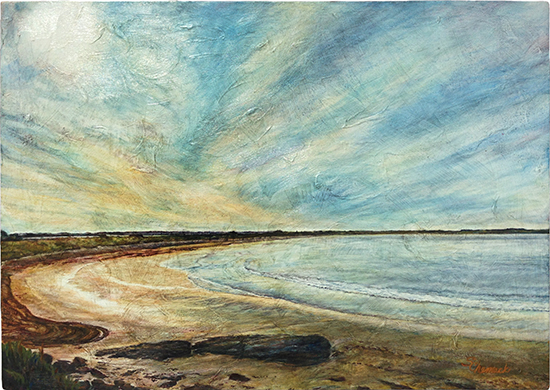Second Beach (Oil painting)