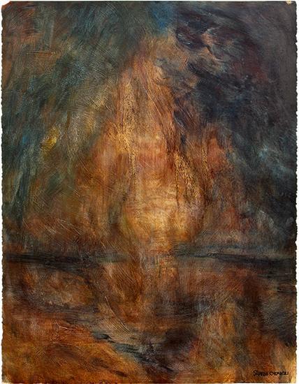 Still (Oil painting on paper)