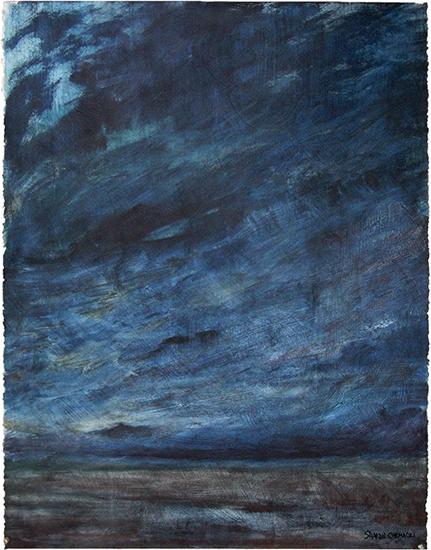 Blue Landscape (oil painting)