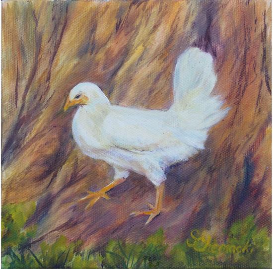 Chicken Tender (Oil painting)