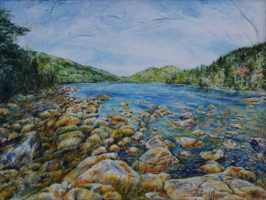 Rock Conversations (Oil Painting)